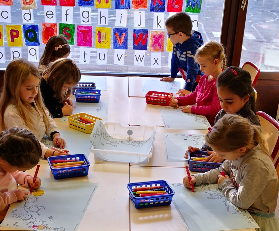 Ateliers coloriage